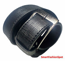 STYLISH GENUINE FAUX LEATHER BLACK BELT FOR MEN'S/GENTS 100% FREE SHIPPING