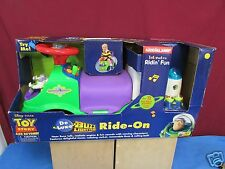 Deluxe Kiddie land Interactive Ridin' Fun Toy Story Deluxe Buzz Lightyear Bike