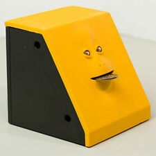 Takada Collection Electronic Monkey Face Coin Money Piggy Bank Box (Yellow)
