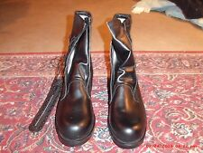 Military boots dated 1988 by Addison Shoe in size 13D - Biltrite soles & perfect