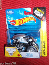 Hot Wheels Monster Jam N.E.A. NEW EARTH AUTHORITY POLICE #71 Figure Series