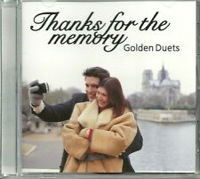 THANKS FOR THE MEMORY GOLDEN DUETS CD - GONE FISHIN', EASY TO LOVE & MORE