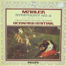 Mahler(Vinyl LP)Symphony No.4-Philips-802 888 LY-UK-VG+/VG-VG+/VG