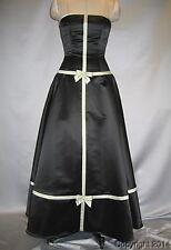 JESSICA McCLINTOCK Black Green Dress NWT Size 7