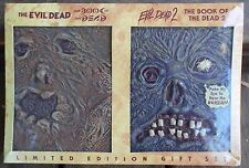 The Evil Dead 1 & 2 BOOK OF THE DEAD EDITION (DVD, 2005) VERY RARE SET BRAND NEW
