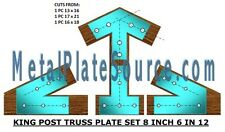 TIMBER TRUSS PLATES: HEAVY DUTY BUILD YOUR OWN TRUSSES