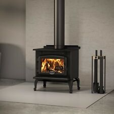 Osburn 900 Wood Stove Fireplace Free Standing Cast Iron Black Small EPA