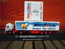 "Herpa 174015 MAN F90 Sattelzug ""Miedtank"" Stuttgart in PC Box. in OVP, 1:87, H0"