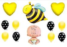 """What Will It """"BEE"""" Baby Shower Balloons Decorations Supplies Gender Reveal Party"""