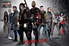 Poster SUICIDE SQUAD - In Squad We Trust - Group Quer ca90x60cm NEU 58826