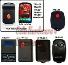 OEM Tiltamatic TRG102 103 104 105 106 107 Compatible 8 Dip Switch Remote Control