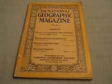ANTIQUE NATIONAL GEOGRAPHIC May 1913 CANADIAN ROCKIES MONARCH Back Yard Monsters