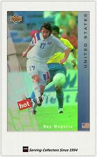 1994 UD World Cup U.S.A Trading Card Hotshot Hologram Card HS9:Roy Wegerle