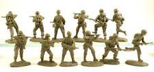 Austin Miniatures US Marines 12 in 6 Action Poses (Khaki Color) AM002KH