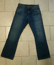 Mens FOSSIL denim jeans CONTINENTAL relaxed Sz 34 (x 34 inseam)