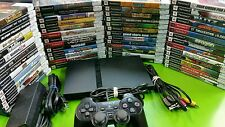 Playstation 2 console Slim and games / memory card PS2