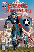 CAPTAIN AMERICA STEVE ROGERS 1 1ST PRINT NM COVER CONTROVERSIAL HAIL HYDRA