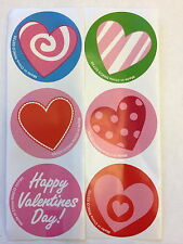 100 Heart  Happy Valentine's Day Party Favors Teacher Supply Love