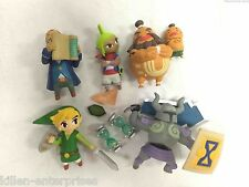 Legend of Zelda Mini Figure Set TOMY Gacha Nintendo