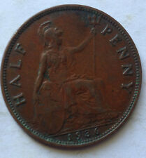 Great Britain 1/2 Penny 1936 coin