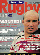 INSIDE RUGBY MAGAZINE February 1997