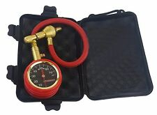 EZ Tire Deflator Corrosion Resistant Brass/Stainless Gauge Display Easy To Read