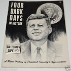 Vintage 1963 Four Dark Days In History John F. Kennedy Booklet Book Great Photos