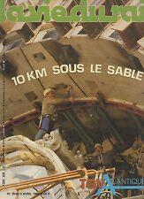 la vie du rail N°2038 TGV atlantique tunnel de villejust  1986