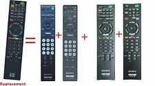 Replaced Sony BRAVIA LCD TV Remote RM-YD025 RM-YD028 RM-YD040 RM-YD063 RM-YD024