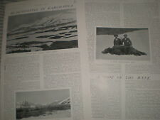 Photo article bear shooting in Kamchatka Russia 1907 ref Y3