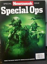 NEWSWEEK SPECIAL OPS Spl. America military Navy Seals team 6 2014 FREE SHIPPING