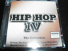 Hip Hop The collection Vol IV CD Ft 50 Cent The Game Kanye West Nelly Outkast &