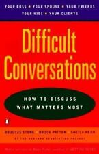Difficult Conversations: How to Discuss what Matters Most-ExLibrary