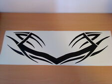 motorbike front fairing tribal decal graphic honda suzuki ducati racing helmet
