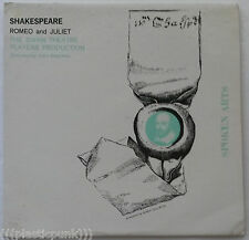 Spoken Arts Shakespeare Romeo And Juliet The Swan Theatre Players Production LP