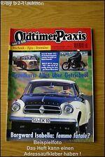 Oldtimer Praxis 9/95 Borgward Isabella Fiat 130 DKW