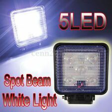 12-30V IP67 5 LED Phare Feu Travail Projecteur Spot Beam Off Road Lampe SUV Auto