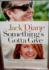 Cinema Poster: SOMETHING'S GOTTA GIVE 2003 (Advance One Sheet) Jack Nicholson