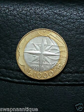 1999~~SAN MARINO~~1000 LIRA~~Obv: Child of the Universe~~Collectors Rare Coin