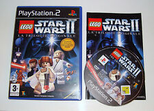 JEU SONY PLAYSTATION 2 PS 2 -LEGO STAR WARS 2 LA TRILOGIE ORIGINALE COMPLET