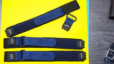 3pcs original swiss made swatch leather band blue 17mm 100%new for swatch watch