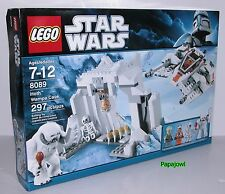 LEGO STAR WARS 8089 Hoth Wampa Cave Luke Zev skeleton New In Box 297 pieces