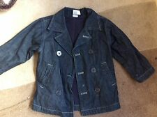 Gymboree Boys Denim Car Coat Age 3