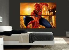 Large Spiderman Wall Poster Art Picture Print