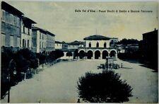 Cartolina Formato Piccolo - Colle Val D'Elsa - Piazza Arnolfo Di Cambio E Stazio