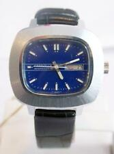 Vintage CARAVELLE 16J Mens Winding DAY DATE Watch 1970s* EXLNT Condition* Tested