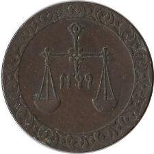 1882 (AH 1299) Zanzibar 1 Pysa Coin KM#1