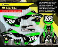 2013 2014 2015 2016 KXF 250 GRAPHICS KIT KAWASAKI KX250F MOTOCROSS BIKE DECALS
