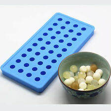 40 Cavities Dia 1.7cm Small Ball Ice Cube Tray Mould Chocolate Mold