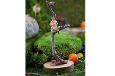 Miniature Dollhouse FAIRY GARDEN ~ Garden Sprite With Bird Nest ~ NEW